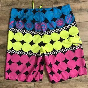 Quiksilver Swim - Bright Colored Swim Shorts